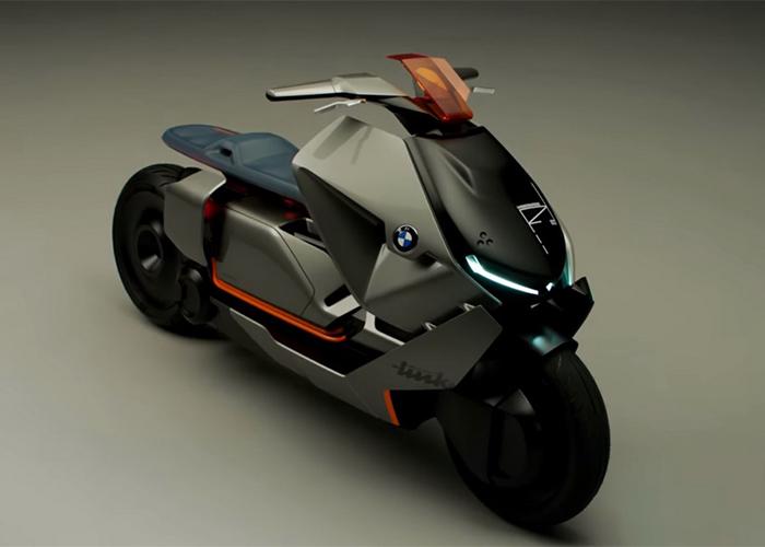 BMW เตรียมเปิดคอนเซปต์สกูตเตอร์ไฟฟ้าที่มีชื่อว่า Link